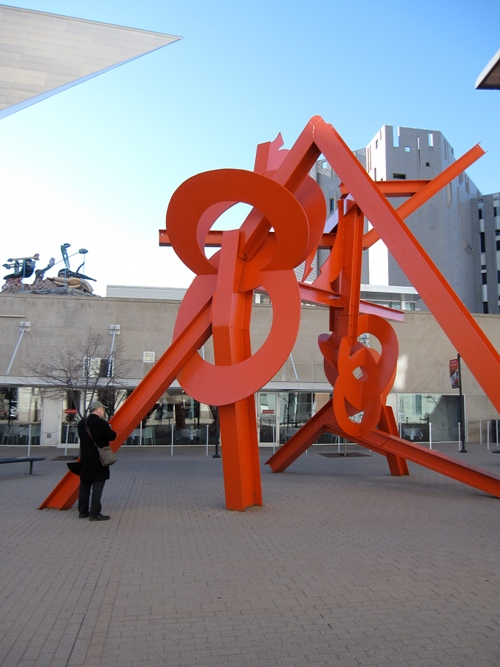 Sculpture Lao Tsu by Mark diSuvero
