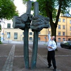 Recording 'Befrielsen!' in Uppsala