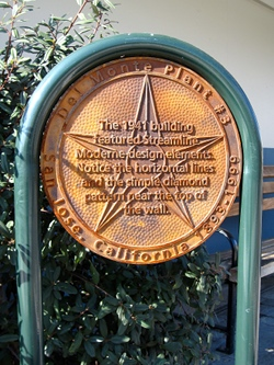 Plaque commemorating Del Monte Plant 3