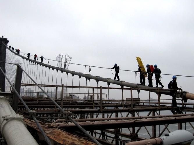 Brooklyn Bridge training day