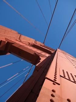 Golden Gate Bridge north tower