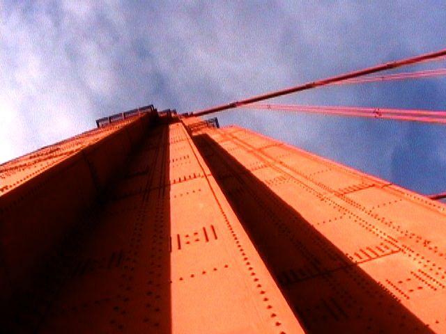 Golden Gate Bridge south tower