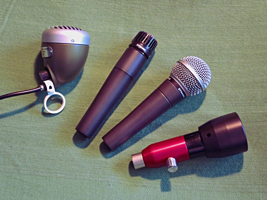 Shure mics for harp players
