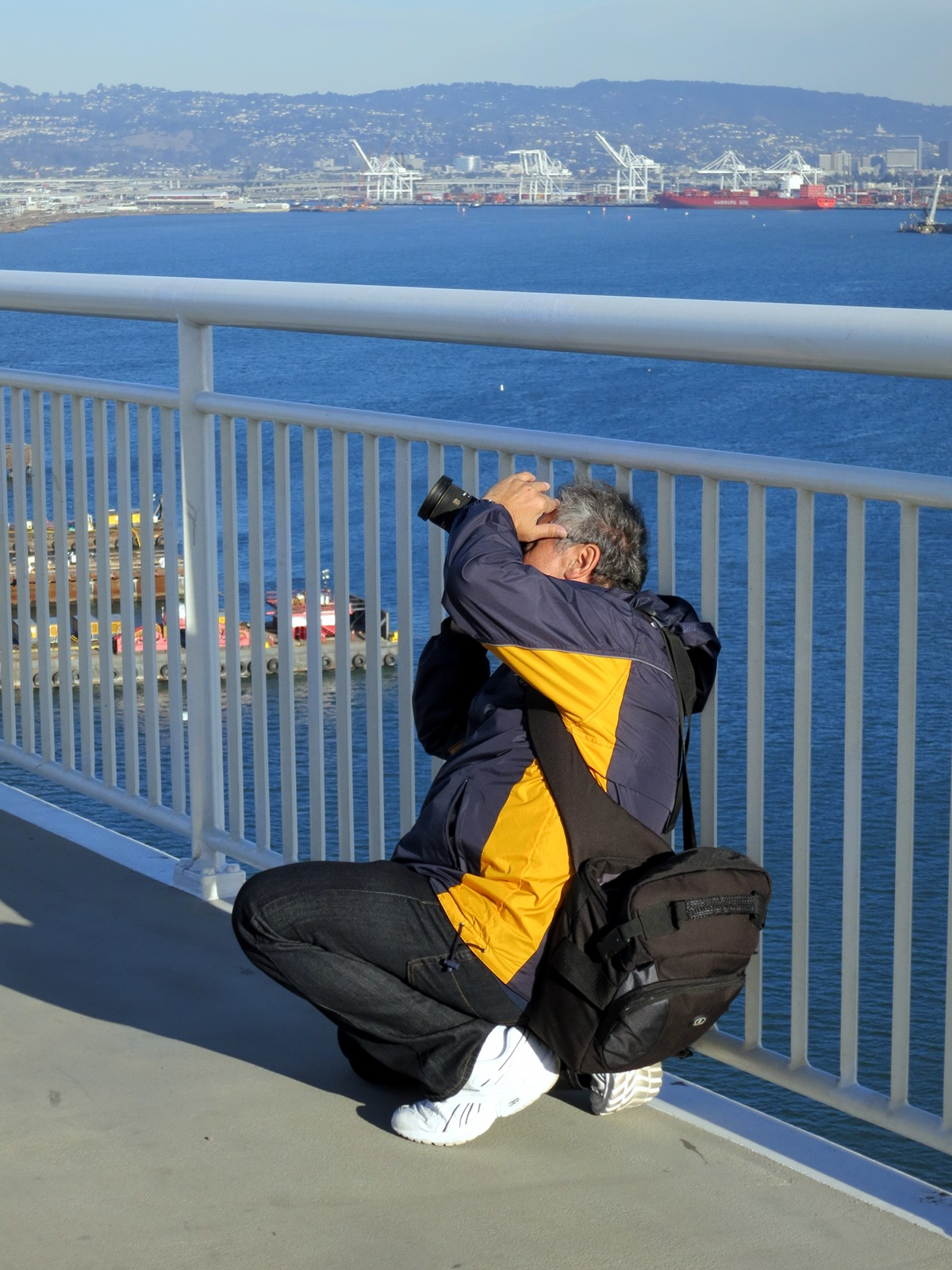 Bay bridge Assay 1: photographer at work.