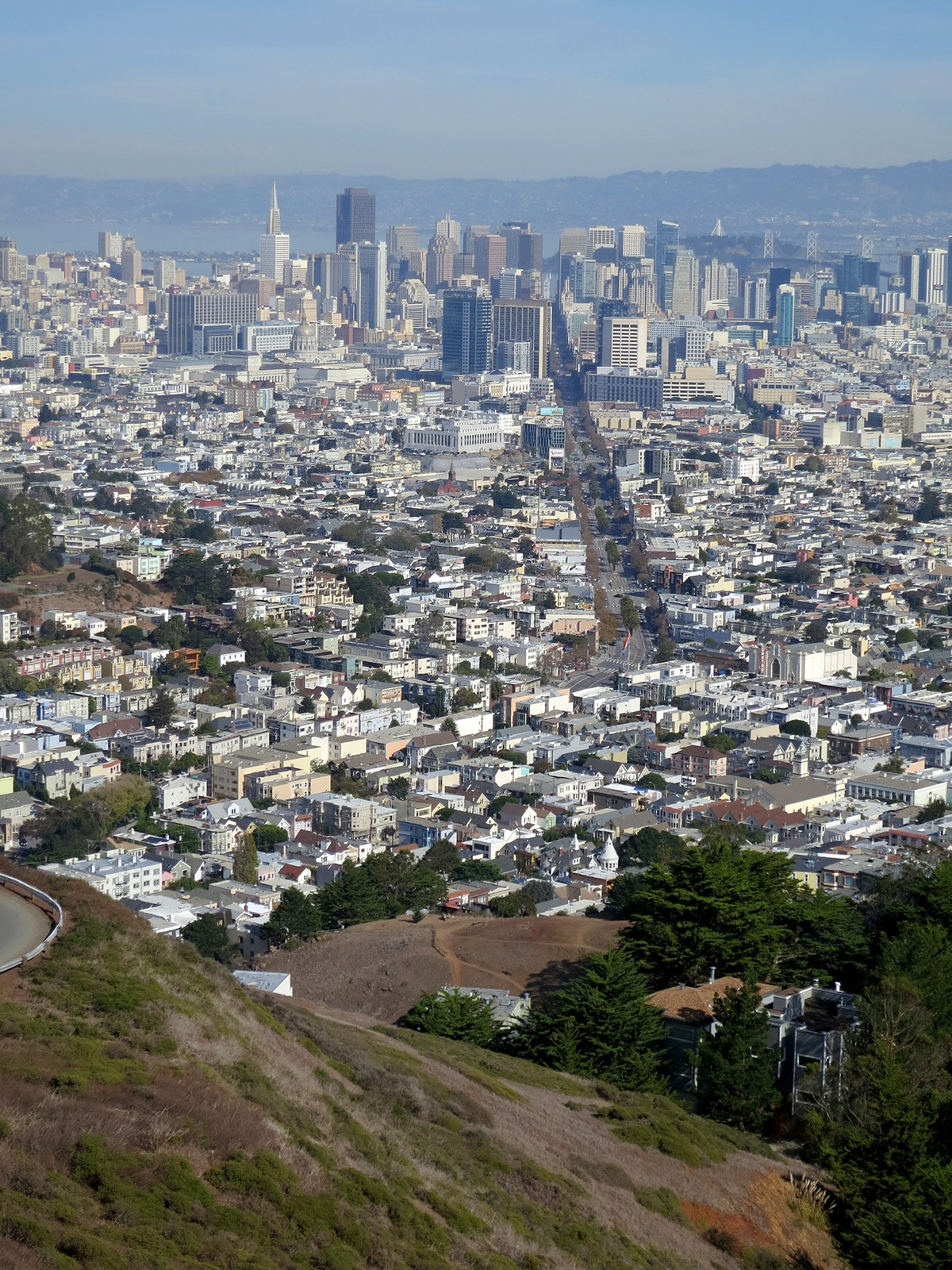 San Francisco, Yerba Buena Island, and beyond