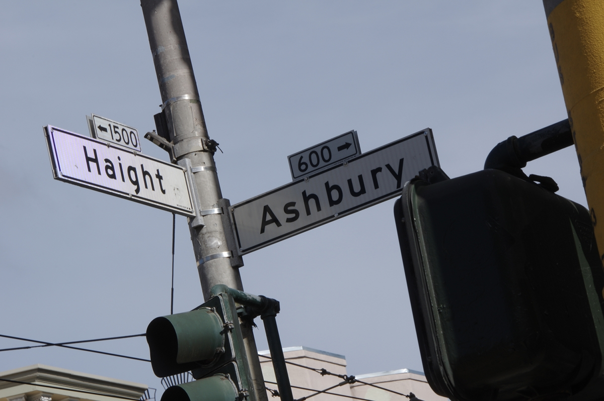 One of San Francisco's more famous intersections.