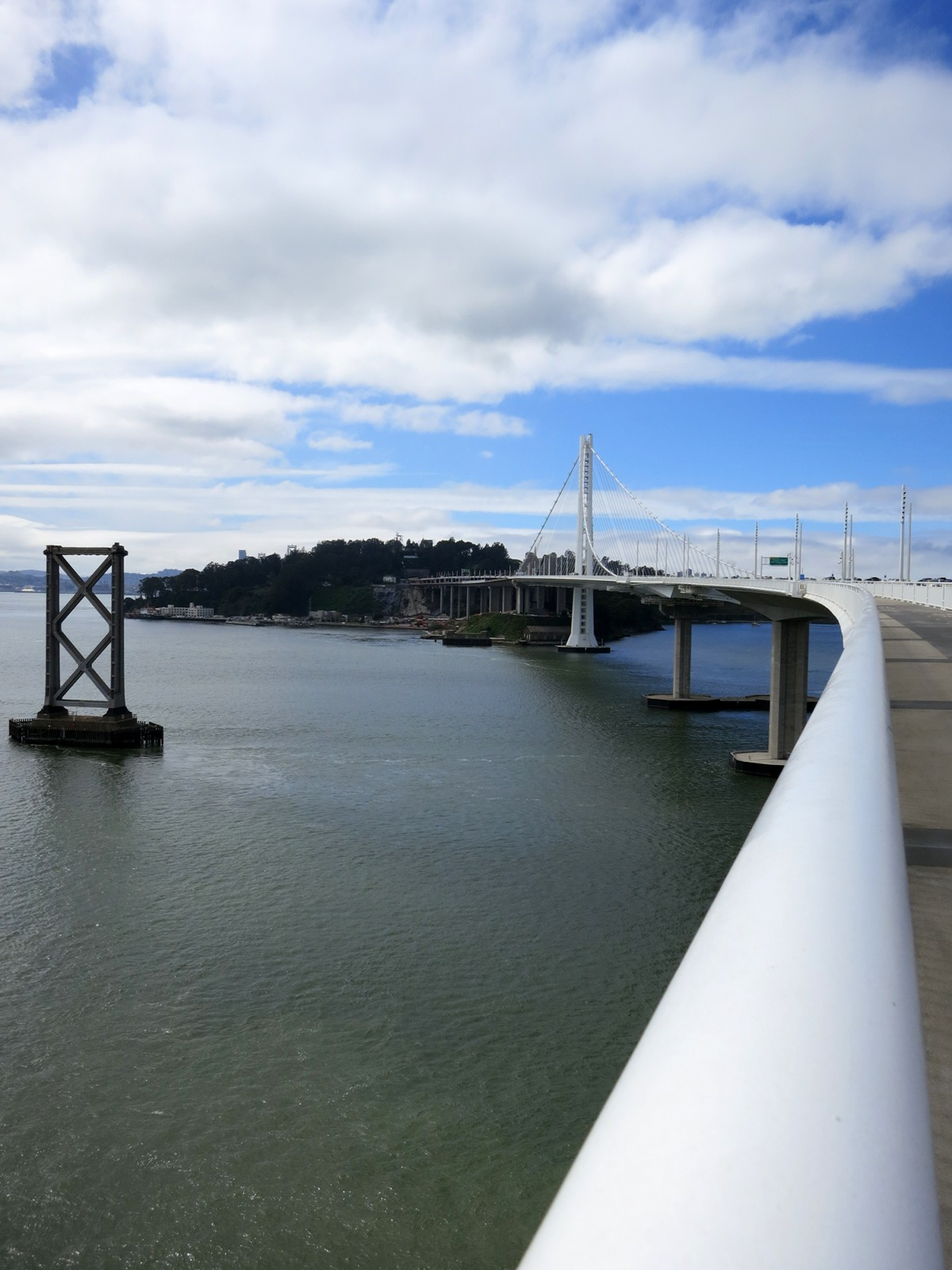 Bay Bridge Assay 2: panoramic view of the east span.