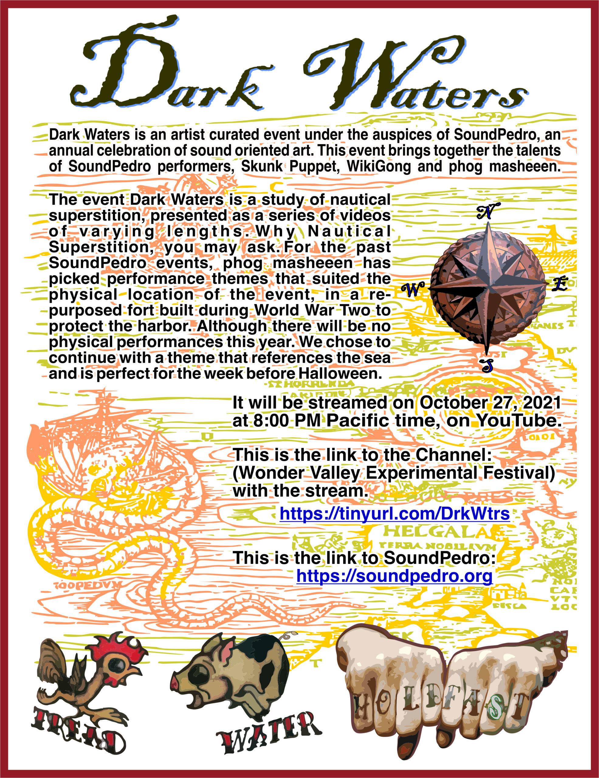 Dark Waters official handbill